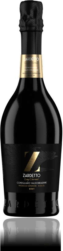 Bottle of Long Charmat Prosecco Superiore DOCG Brut