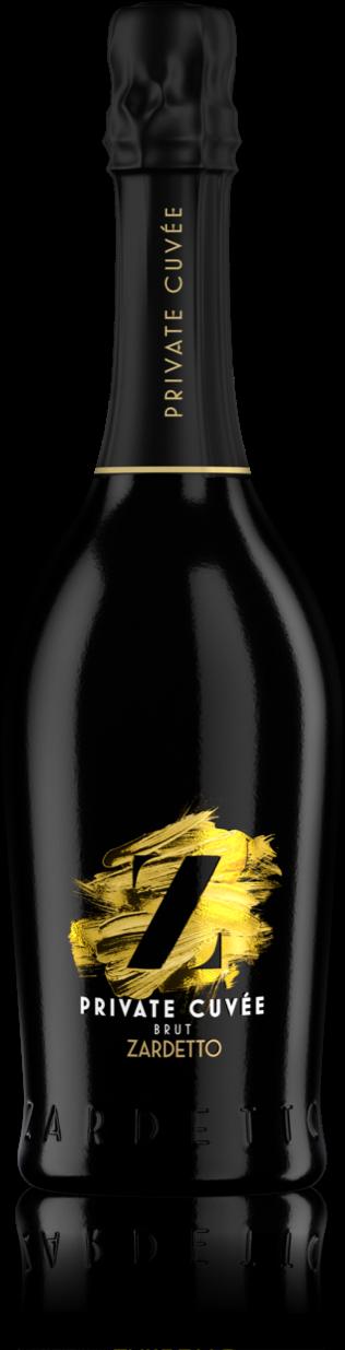 Bottle of Zardetto Prosecco Private Cuvée